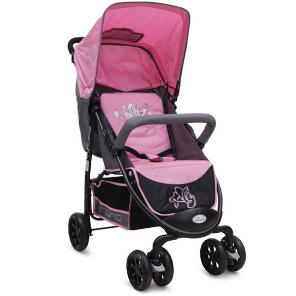 Лятна количка Sally - Цвят: Розов