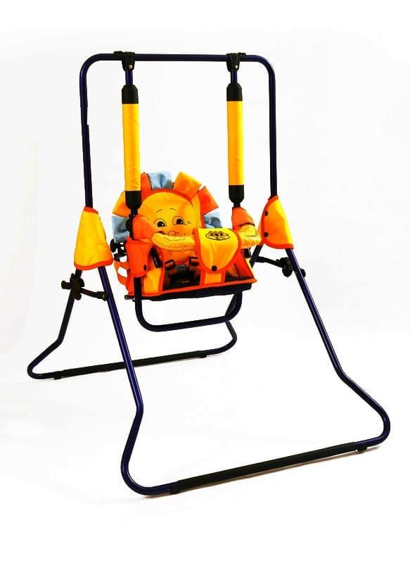Детска люлка H2 1-3г 0-30кг - Цвят: Червен