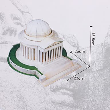 3D пъзел Тhomas Jefferson Memorial 35 части