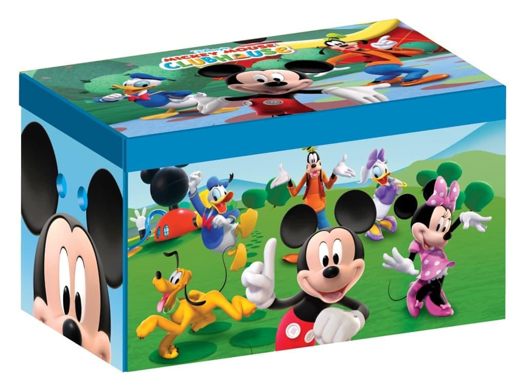 Сгъваема кутия за играчки Mickey Mouse