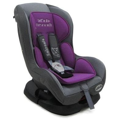 Moni-столче за кола Babysafe 0-18 кг - Цвят: Лилав