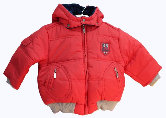 Детско яке за момче Idilbaby червен