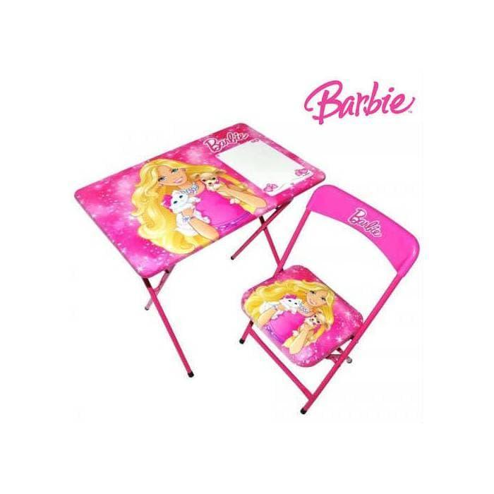 Детска маса със столче Barbie