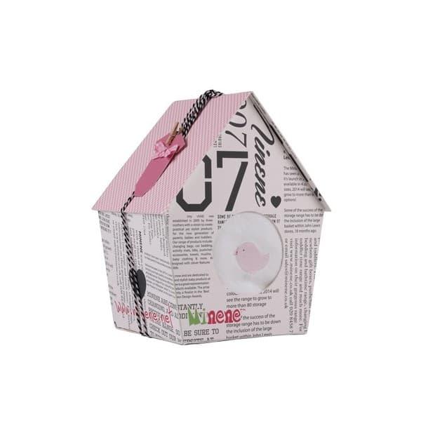 Minene-Подарък за новородени Къщичка за птици