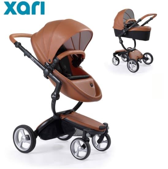 Бебешка количка Mima Xari Camel 2в1