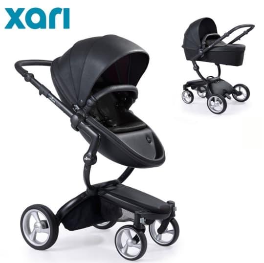 Бебешка количка Mima Xari Black 2в1