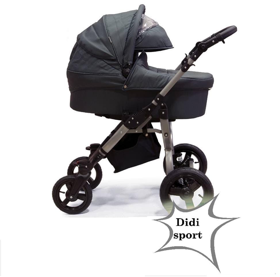 Бебешка количка 3в1 Didi Sport black
