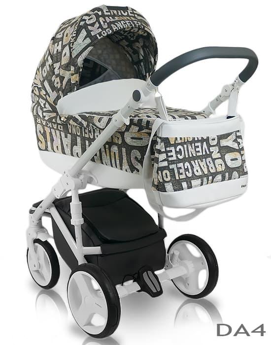 Бебешка количка 2в1 Bexa D'Angela цвят: DA4