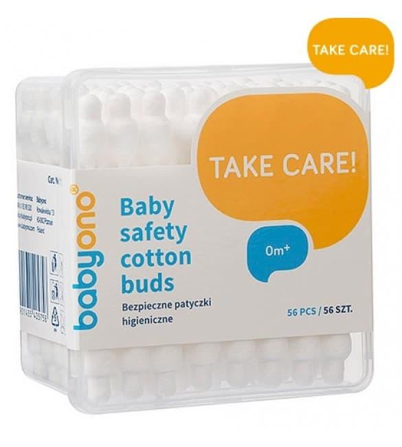 BabyOno-Клечки за уши анатомични 56бр