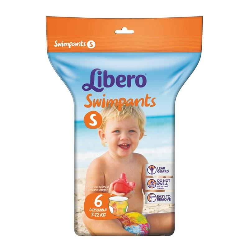 Libero-Еднократни гащички-бански размер S 6бр