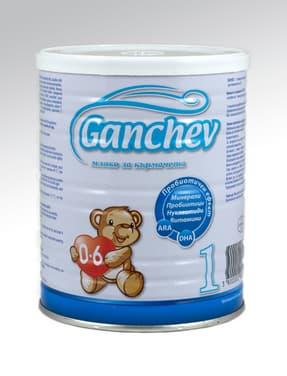 Ganchev1-Адаптирано мляко за кърмачета с пробиотик 0-6м 400гр
