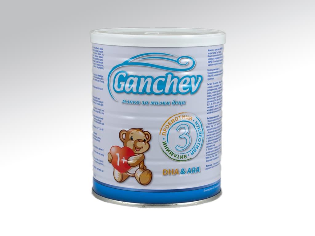 Ganchev3-Мляко за деца с пробиотик 1-3г 400гр