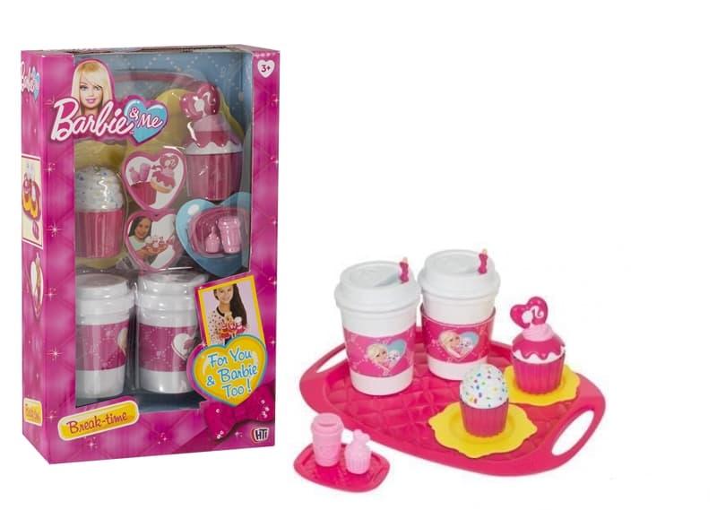 Barbie комплект за кафе и торта