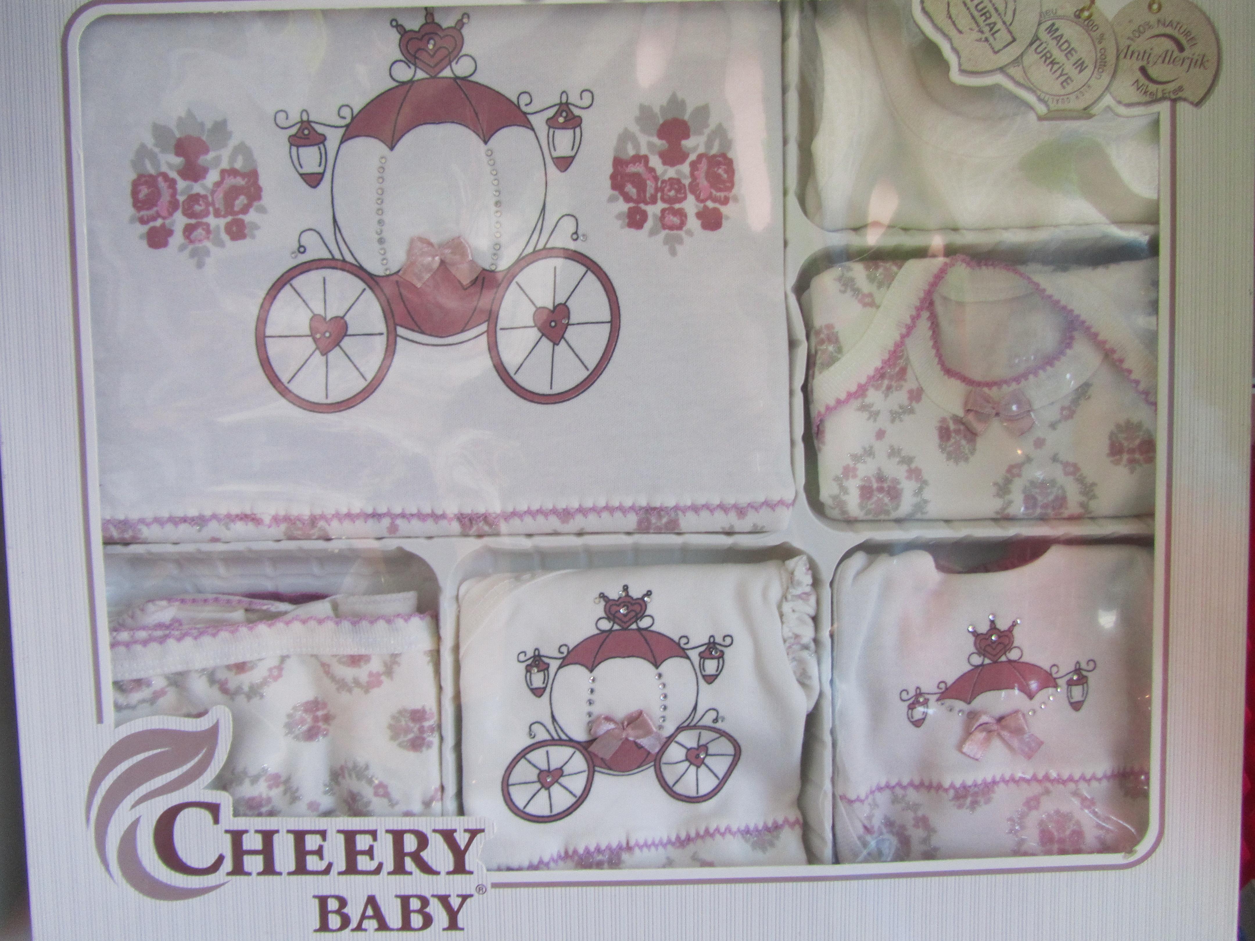 Комплект за изписване 10ч Cherry baby