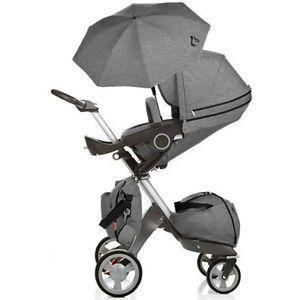 Doux bebe-чадър за количка Ultimate denim