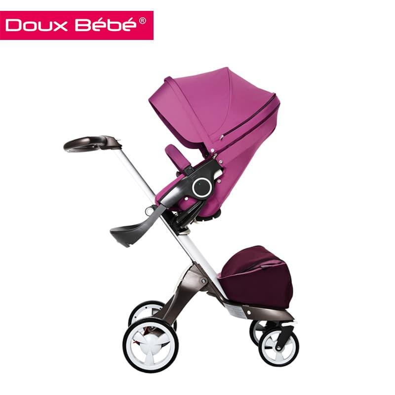 Doux bebe-бебешка количка с лятна седалка Ultimate:purple