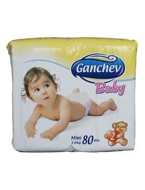 Ganchev-пелени Mini2 3-6кг 80бр
