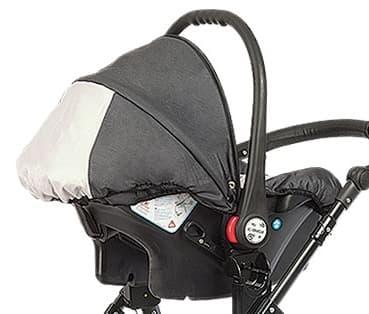 Детско столче за кола 0-9 кг Babyactive - Цвят: Сив