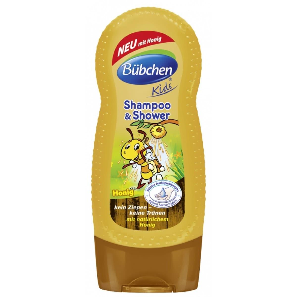Шампоан за коса и тяло Мед Bubchen 230ml