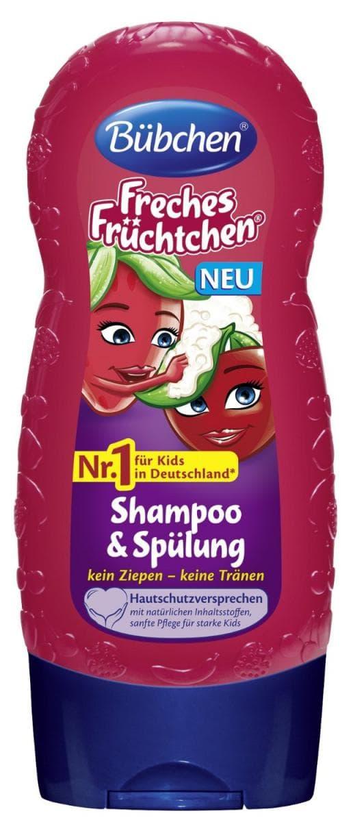 Шампоан за коса и тяло Палави плодчета Bubchen 230ml