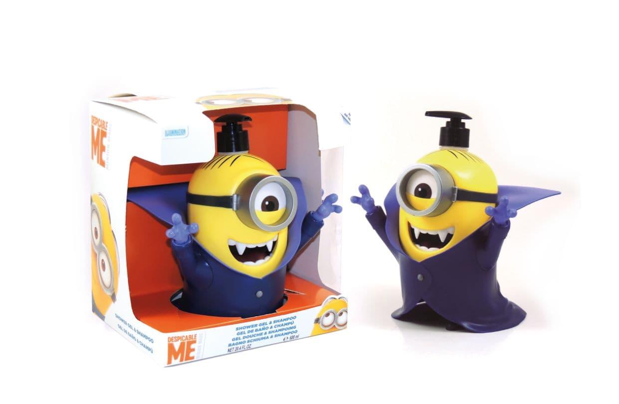 Шампоан и душ-гел в 3D фигура Minions 500ml
