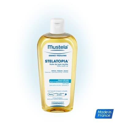 Mustela-млечно масло за вана 200мл