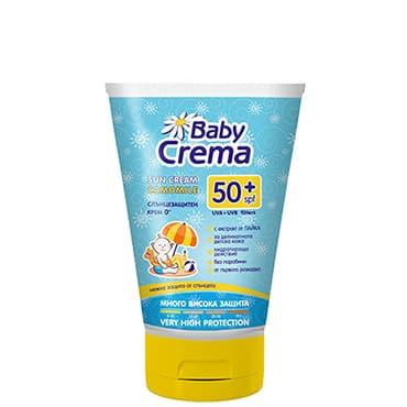 Baby Crema-Слънцезащитен крем с лайка SPF50+ 100ml