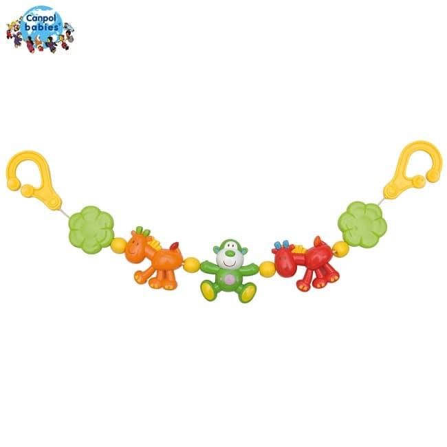 Canpol-играчка за количка Жираф и Маймунка