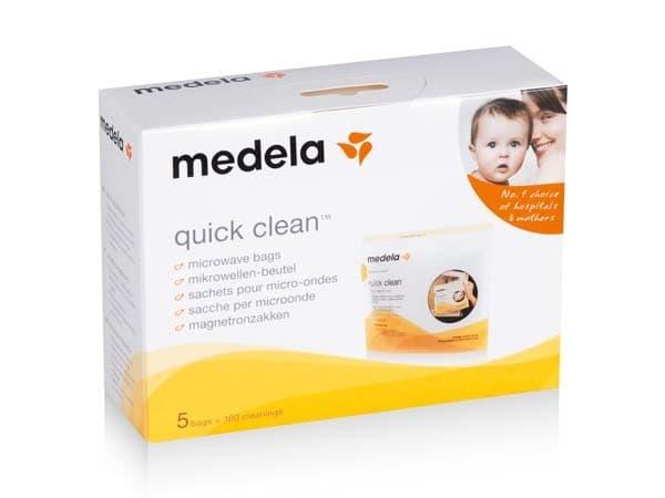 Medela-Пликове за микровълнова стерилизация 5бр