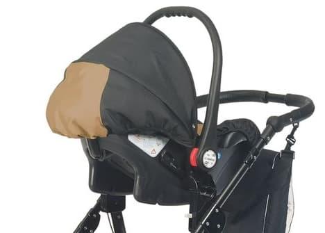 Детско столче за кола 0-9 кг Babyactive - Цвят: Кафяв