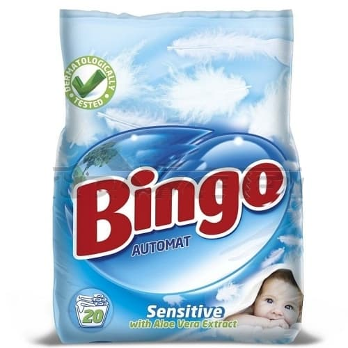 Прах за пране Bingo Sensitive 2кг