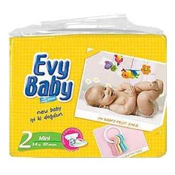 Evy baby2 3-6кг 60бр