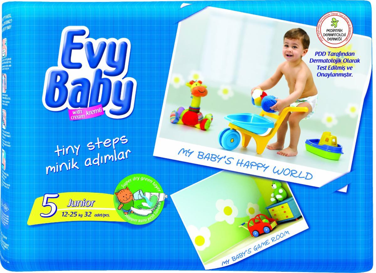 Evy baby5 12-25кг 48бр