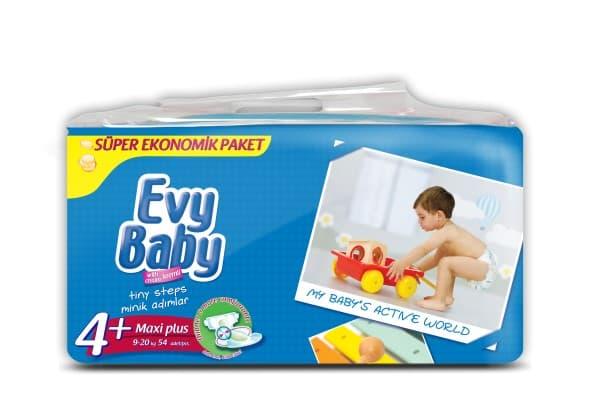 Evy baby4+ 9-20кг 54бр