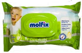 Molfix-Мокри кърпи 63бр