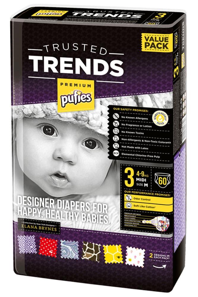 Pufies Trends midi3 4-9кг 60 бр
