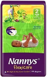Nannys Flexicare mini+ 4-6кг 44бр