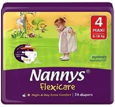 Nannys Flexicare maxi 8-18кг 26бр