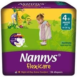 Nannys Flexicare maxi+ 10-20кг 26бр