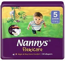 Nannys Flexicare junior 12-25кг 24бр