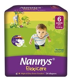 Nannys Flexicare junior+ 15-30кг 24бр