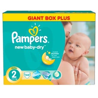 Pampers New baby2 Mini 3-6кг 144бр