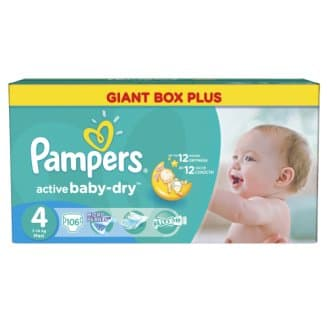 Pampers Active baby 4 Maxi 7-14кг 106бр