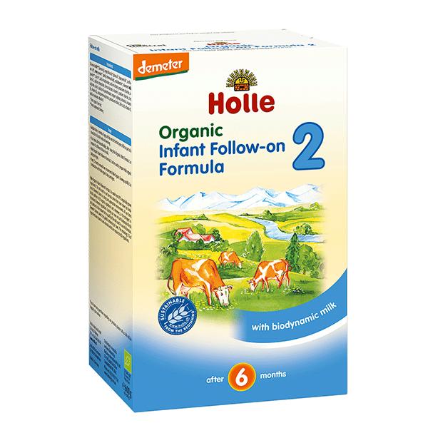 Holle-Био адаптирано мляко 6-12м 600гр