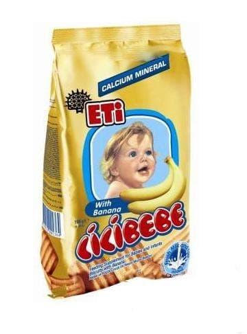 Eti-бисквити Cicibebe с банан 190гр