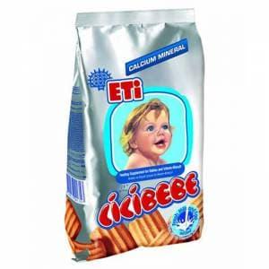 Eti-бисквити Cicibebe с мляко 190гр