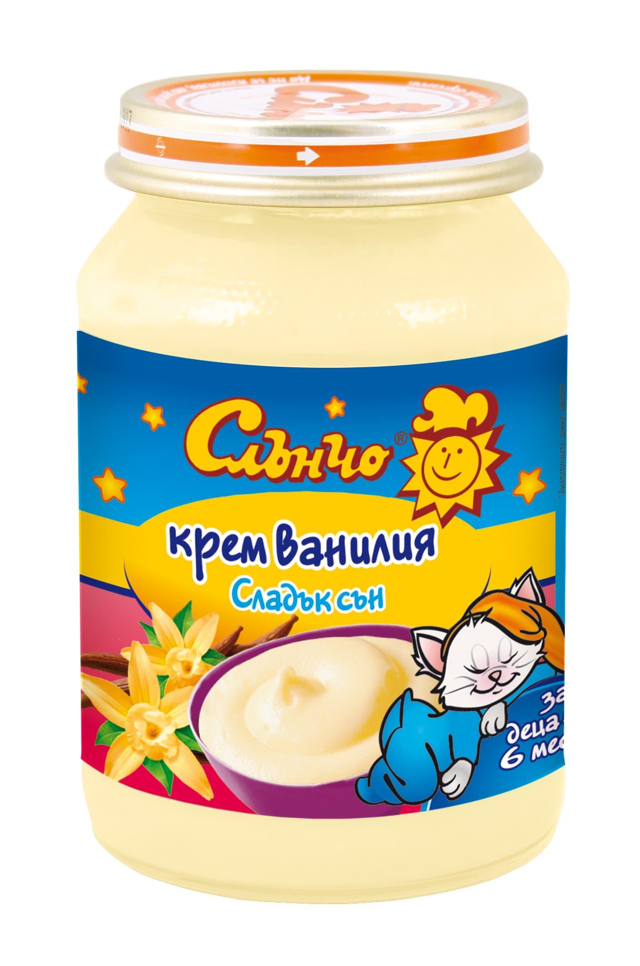 Слънчо-крем ванилия