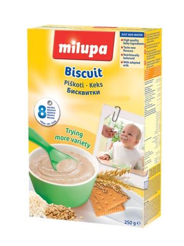 Milupa-Млечна каша Бисквитка 8м+ 250гр