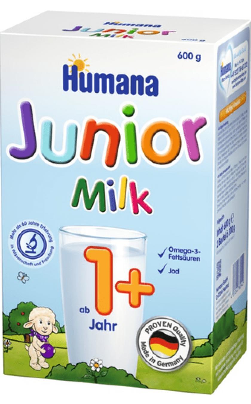 Humana4-преходно мляко Junior milk над 12м 600гр