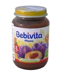 Bebevita-пюре сини сливи 4м+ 190гр